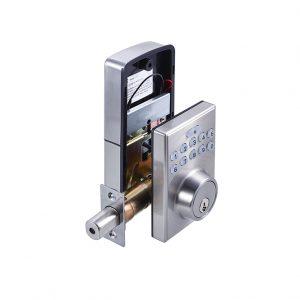 Discount Door Hardware Satin Nickel Electronic Deadbolt