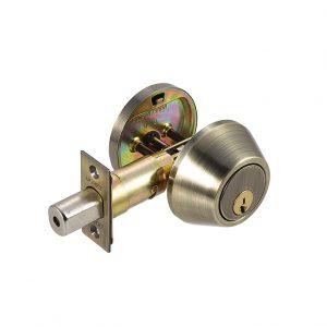 Discount Door Hardware Antique Brass Deadbolt