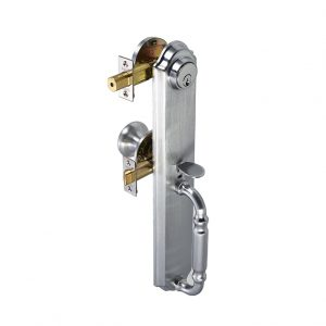 Discount Door Hardware Satin Chrome Gripset
