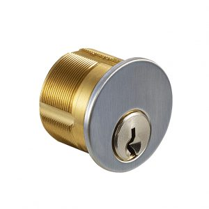 Discount Door Hardware Satin Chrome Mortise Cylinder