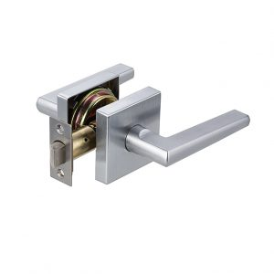 Discount Door Hardware Satin Chrome Passage Lever