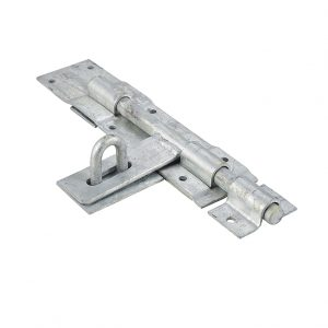 Discount Door Hardware Heavy Duty Galvanized Padbolt