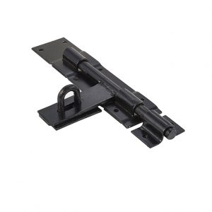 Discount Door Hardware Heavy Duty Black Padbolt