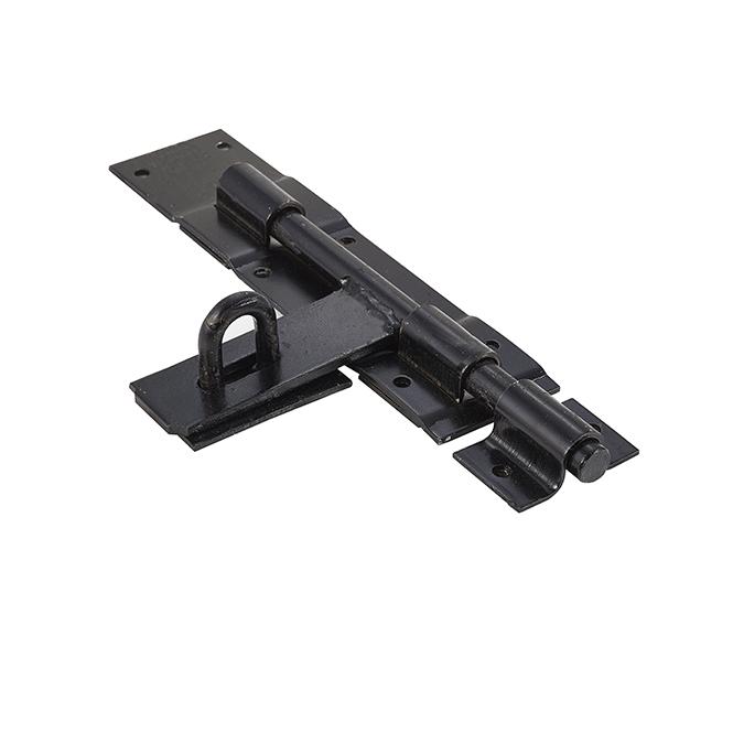 "Universal 1419 KJ 10"" Heavy-Duty Utility Padbolt – Black"