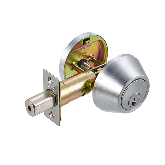 Dorex Signature Deadbolt – Satin Chrome