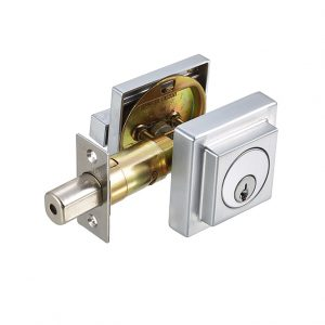 Discount Door Hardware Satin Chrome Deadbolt