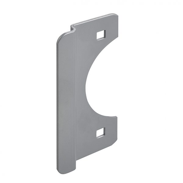 "Don-Jo 6"" Latch Protector - Silver Coated 