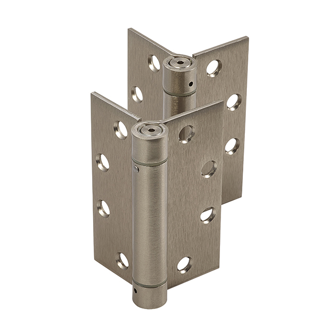 Dorex Template Spring Hinges Satin Nickel Discount