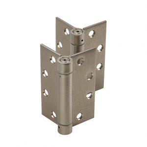 Discount Door Hardware Satin Nickel Spring Hinges