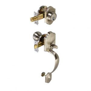 Discount Door Hardware Satin Nickel Gripset