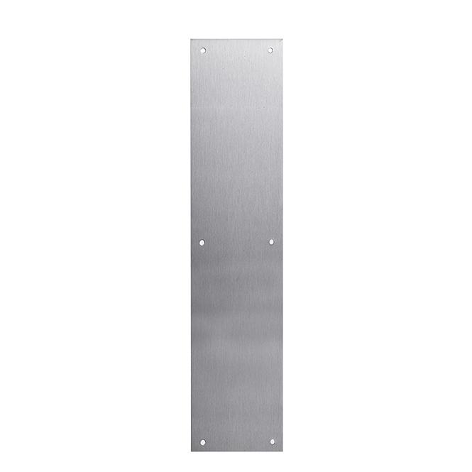Stainless Steel Push Plate Discount Door Hardware