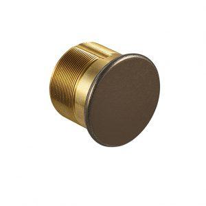 Discount Door Hardware Dark Brown Dummy Mortise Cylinder
