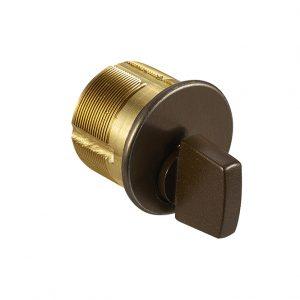 Discount Door Hardware Dark Brown Thumbturn Mortise Cylinders