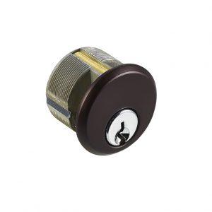 Discount Door Hardware Dark Brown Mortise Cylinder