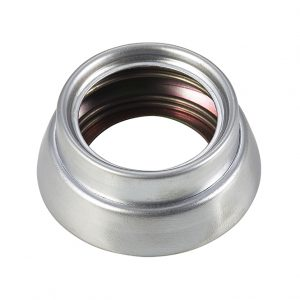 Discount Door Hardware Satin Chrome Spring Loaded Cylinder Ring