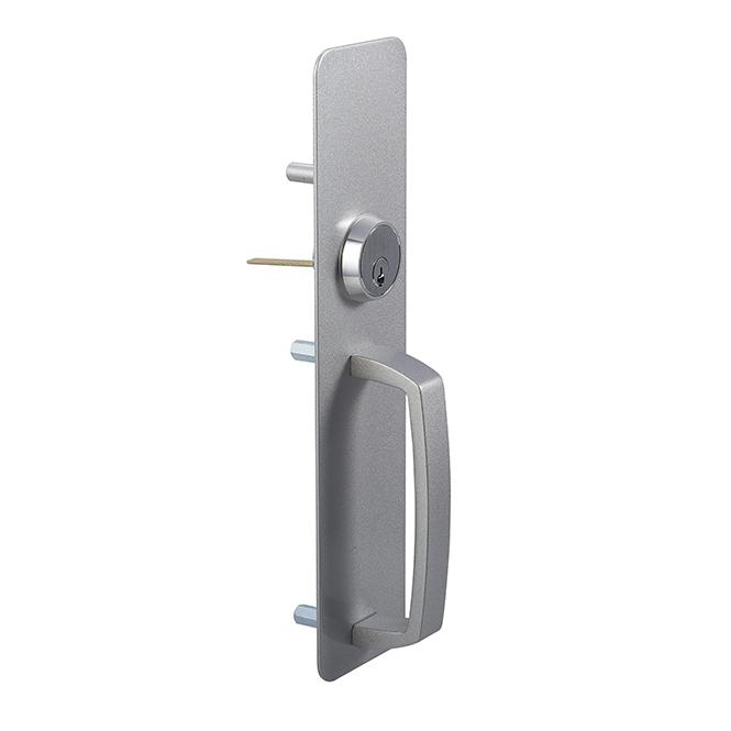 Dorex 8504 C28 Medium-Duty Pull Trim – Storeroom Function – Aluminum Powder Coated