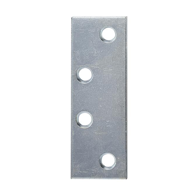 "Universal 4 1/2″ x 1 1/2"" Hinge Filler Plate – Zinc Plated"