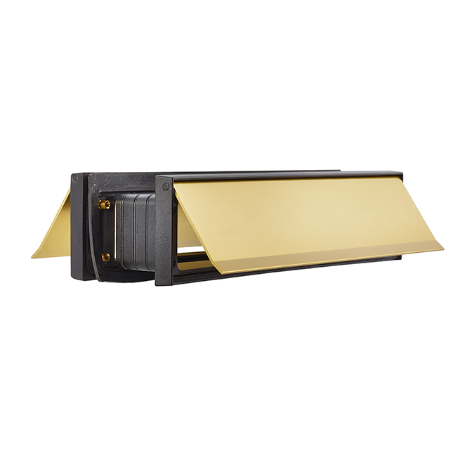 Draftguard Mail Slot Brass Discount Door Hardware