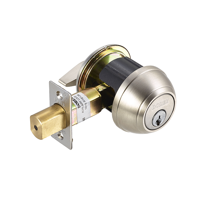 Dorex GX / Elegance Deadbolt – Satin Nickel
