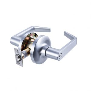 Discount Door Hardware Satin Chrome Commercial Storeroom Lever