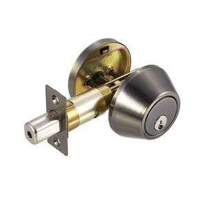 Discount Door Hardware Antique Nickel Deadbolt