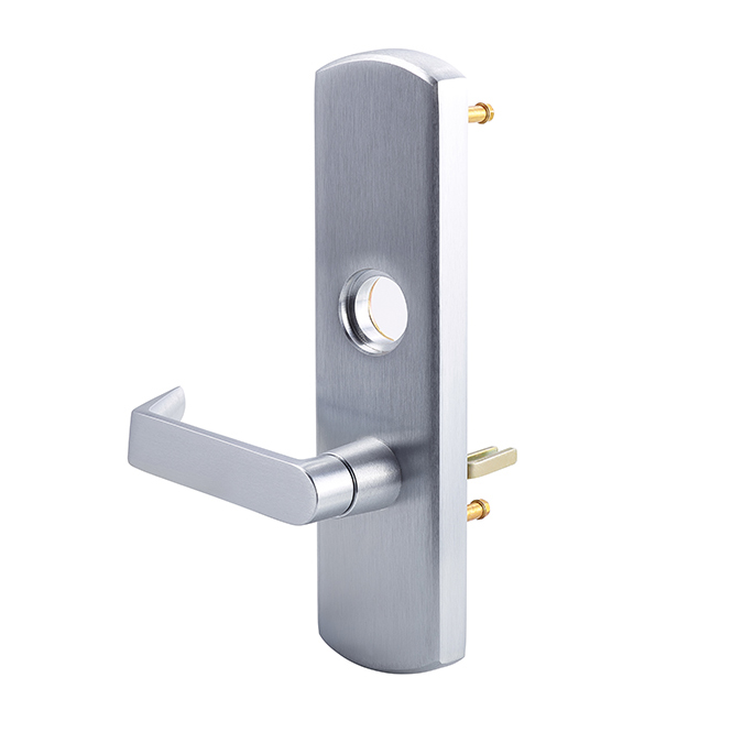Von Duprin 98 996L – LHR – Heavy-Duty Trim Escutcheon Lever – Classroom Function – Satin Chrome