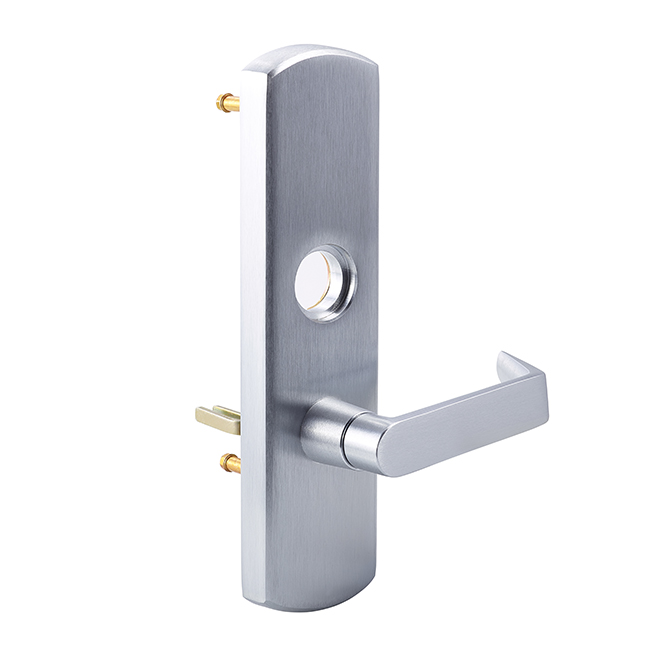Von Duprin 98 996L – RHR – Heavy-Duty Trim Escutcheon Lever – Classroom Function – Satin Chrome