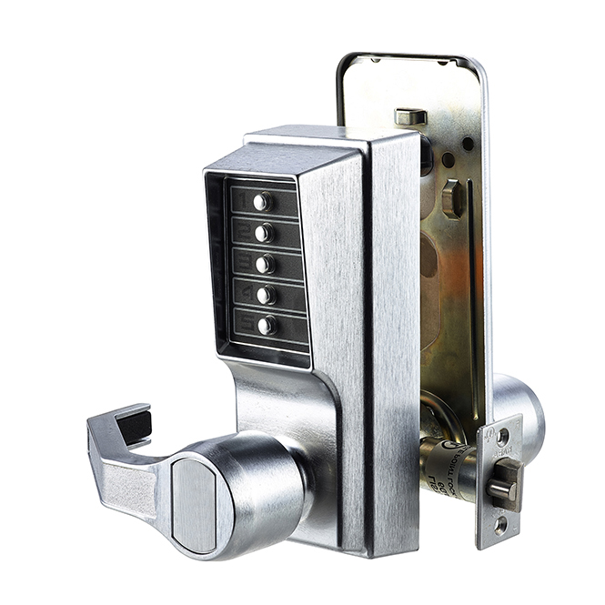Discount Door Hardware Mechanical Pushbutton Lock