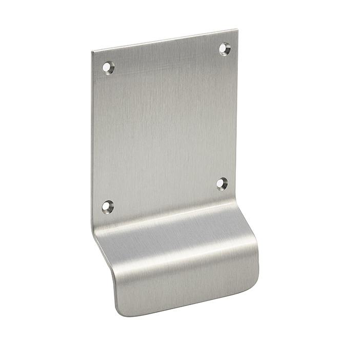 Small Stainless Steel Pull Plate Discount Door Hardware