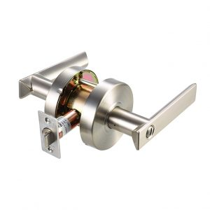 Discount Door Hardware Satin Nickel Commercial Privacy Lever