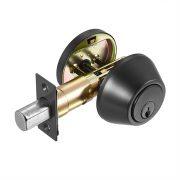 Discount Door Hardware Electroplated Black Deadbolt