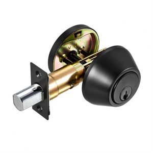 Discount Door Haardware Matte Black Deadbolt