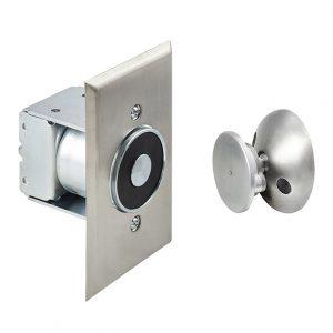 Discount Door Hardware Flush Mounted Magnetic Door Holder