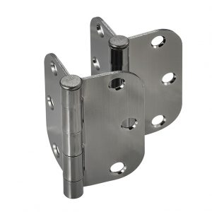 Discount Door Hardware Antique Nickel Radius Hinges