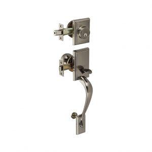 Discount Door Hardware Antique Nickel Gripset