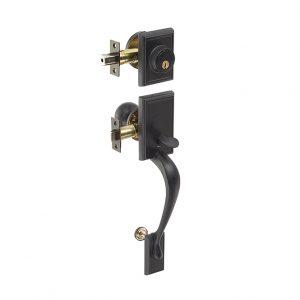 Discount Door Hardware Matte Black Gripset