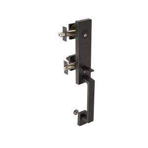 Discount Door Hardware Matte Black Gripset - Front