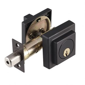 Discount Door Hardware Matte Black Deadbolt