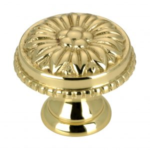 Discount Door Hardware Traditional Brass Knob - 0433