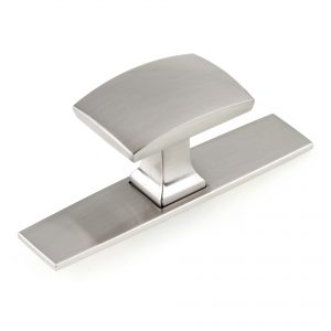 Discount Door Hardware Contemporary Metal Knob - 2245