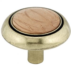 Discount Door Hardware Eclectic Wood Top Knob - 3816