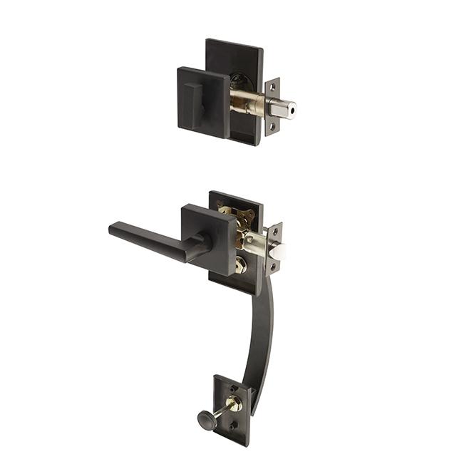 Dorex Arco Gripset Matte Black Discount Door Hardware