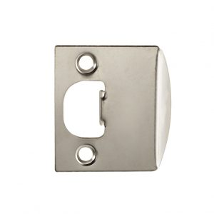 Discount Door Hardware Satin Nickel Strike Plate