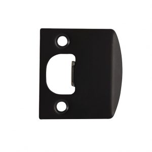 Discount Door Hardware Electroplated Black Strike Plate