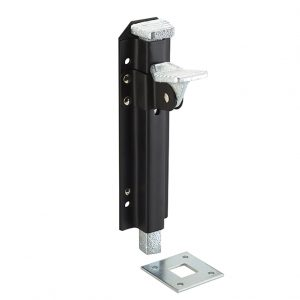 Discount Door Hardware Heavy Duty Black Foot Bolt