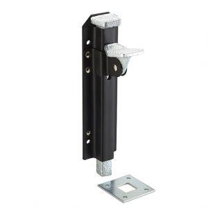 Discount Door Hardware Heavy Duty Black Foot Bolt