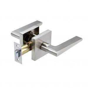 Discount Door Hardware Satin Nickel Passage Lever