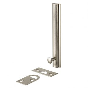 Discount Door Hardware Satin Nickel Surface Bolt