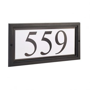 Discount Door Hardware Cast Aluminum Wall Plaque