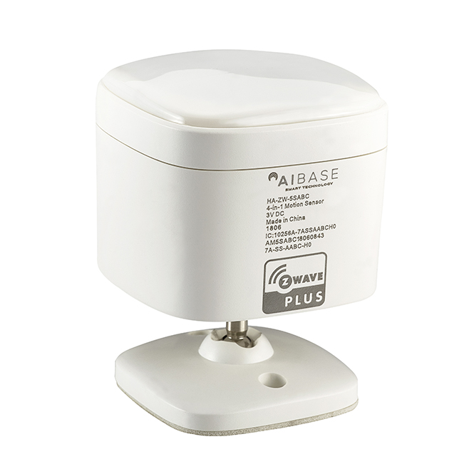 Z-Wave 4 in 1 Sensor – Humidity, Light, Motion, Temperature